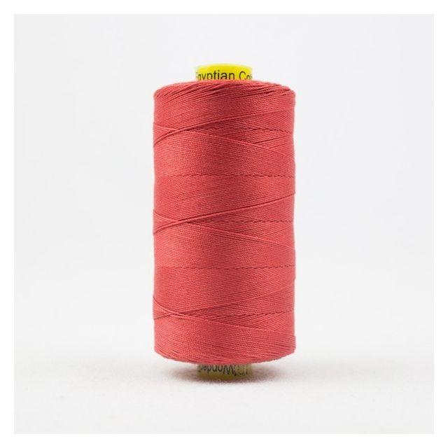 Wonderfil Spagetti 12wt cotton 400 metres, Coral (SP35) Thread by Wonderfil  Spagetti 12wt Cotton Solids - OzQuilts