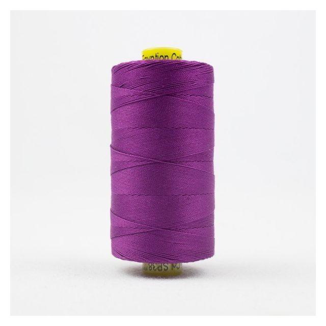 Wonderfil Spagetti 12wt cotton 400 metres, Pansy (SP38) Thread by Wonderfil  Spagetti 12wt Cotton Solids - OzQuilts