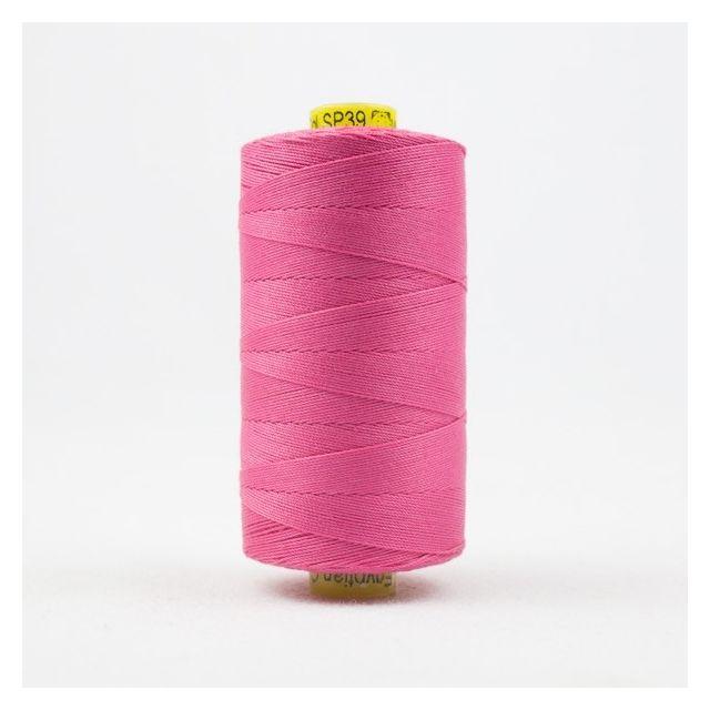 Wonderfil Spagetti 12wt cotton 400 metres, Carnation (SP39) Thread by Wonderfil  Spagetti 12wt Cotton Solids - OzQuilts