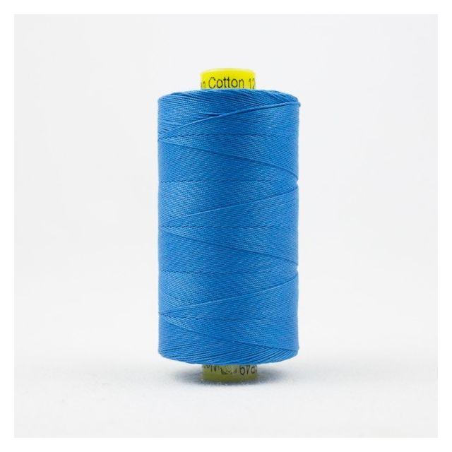 Wonderfil Spagetti 12wt cotton 400 metres, Marine Blue (SP49) Thread by Wonderfil  Spagetti 12wt Cotton Solids - OzQuilts