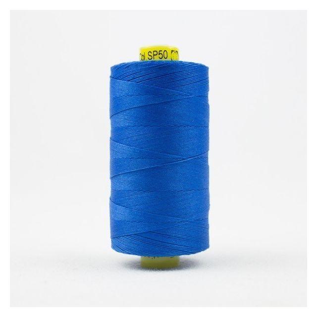 Wonderfil Spagetti 12wt cotton 400 metres, Royal Blue (SP50) Thread by Wonderfil  Spagetti 12wt Cotton Solids - OzQuilts