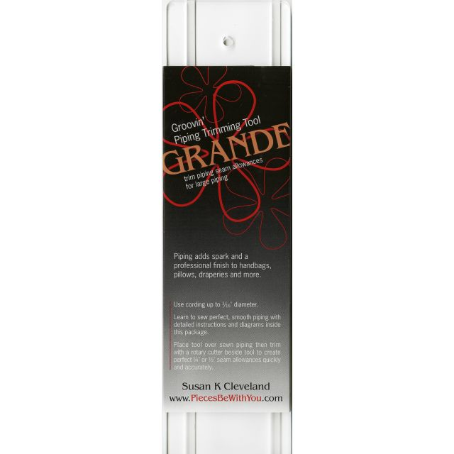 Piping Hot Grooving Grande Piping Tool by Pieces be with you - Susan Cleveland - Piping
