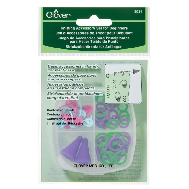 Clover Knitting Accessory Set for Beginners by Clover Accessories - OzQuilts