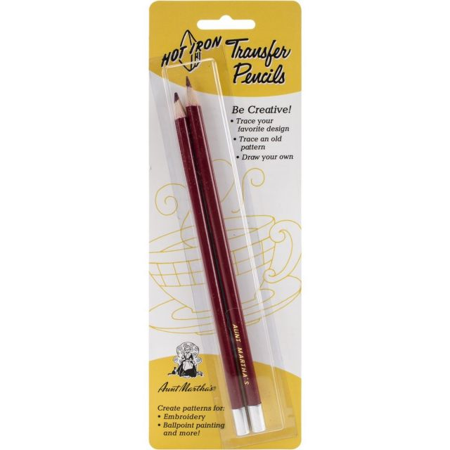 Aunt Martha's Heat Transfer Pencils (2) by  Embroidery - OzQuilts