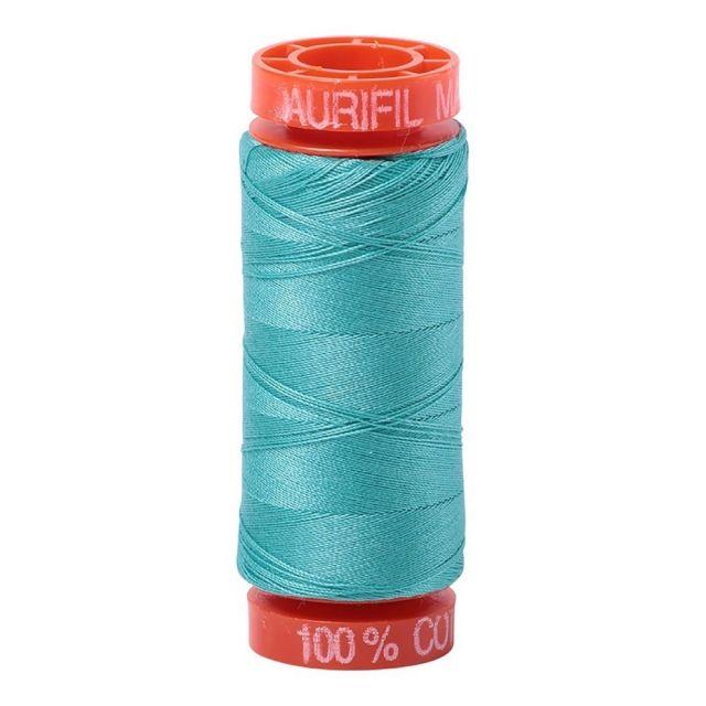 Aurifil Mako Cotton Thread 50wt 220yds 1148 Light Jade by Aurifil Cotton Thread 50wt 200 Metres - OzQuilts