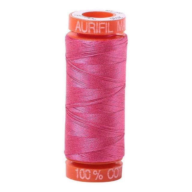 Aurifil Mako Cotton Thread 50wt 220yds 2530 Blossom Pink by Aurifil Cotton Thread 50wt 200 Metres - OzQuilts