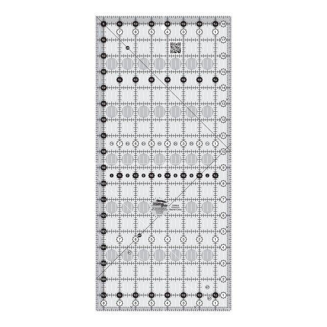 """Creative Grids Quilt Ruler 8½"""" x 18½"""" by Creative Grids - Rectangle Rulers"""