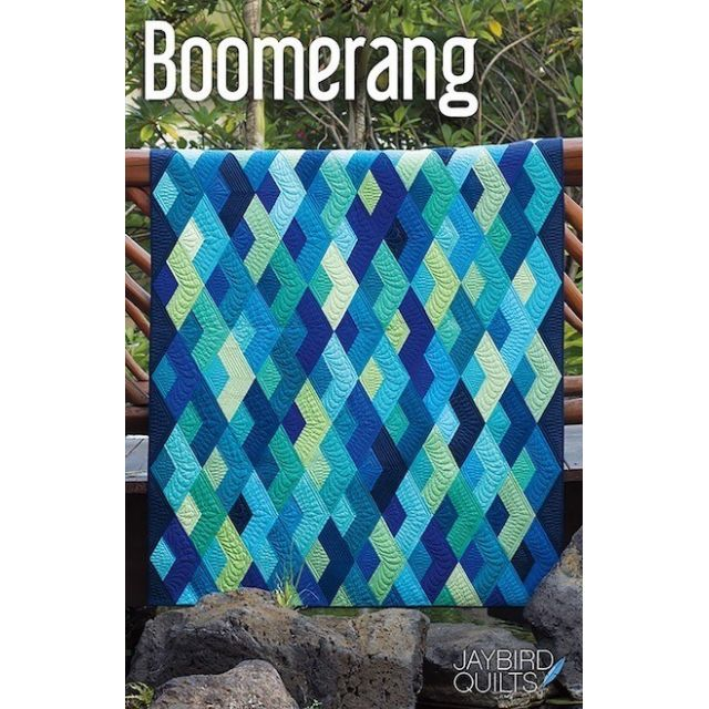 Boomerang Quilt Pattern by Jaybird Quilts - Quilt Patterns