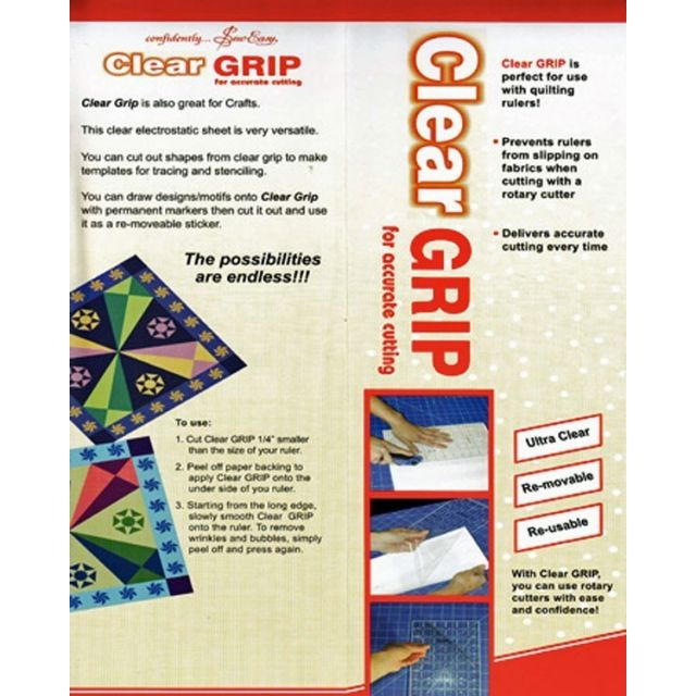 Sew Easy Clear Grip by Sew Easy Other Notions - OzQuilts