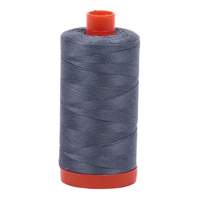 Aurifil Mako Cotton Thread 50wt 1422yds Dark Grey 1246 by Aurifil Cotton Thread 50wt 1300 Metres - OzQuilts