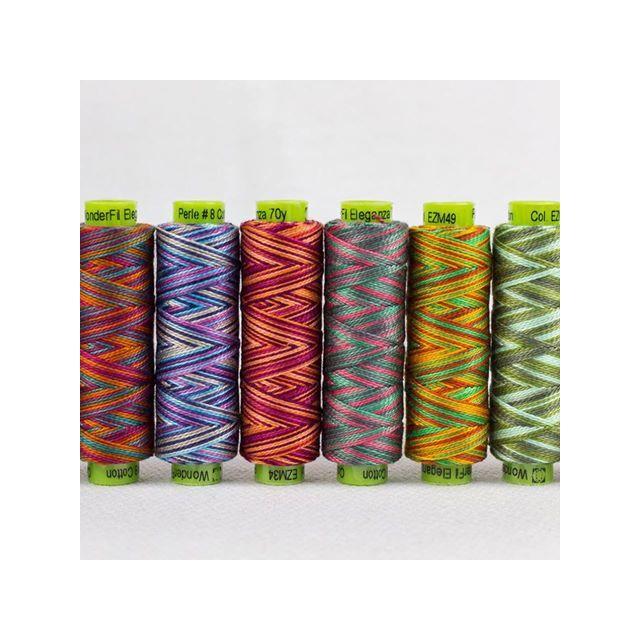 Sue Spargo Eleganza Perle Cotton Size 3 Lazy Lizard (EZ 33) Thread by Sue Spargo Sue Spargo Eleganza Perle 3 - OzQuilts