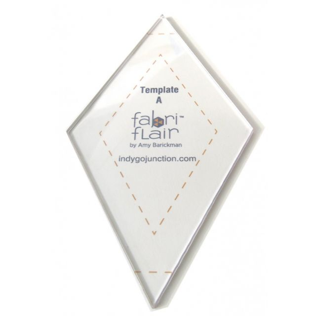 Fabrifalir Template A - DIamond by Indygo Junction Christmas - OzQuilts