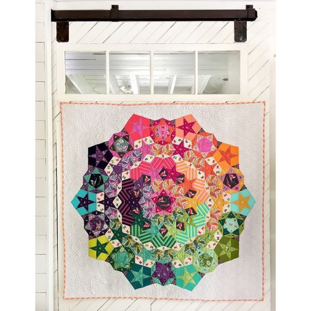 Tula Nova Pattern and Paper Piecing Pack by Tula Pink Paper Pieces Kits & Templates - OzQuilts