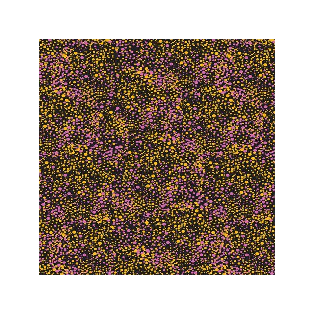 Utopia Bush Plum in Purple Australian Aboriginal Art Fabric by Betty Mbitjana by M & S Textiles Cut from the Bolt - OzQuilts