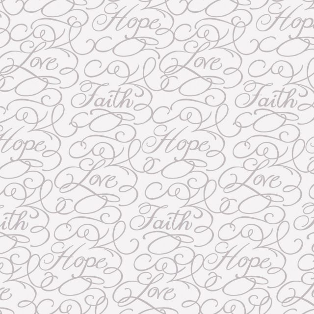 Dove Words Fabric by  - Quilting Cotton Fabrics