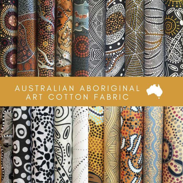 Aboriginal Art Fabric 20 Fat Quarter Bundle B by M & S Textiles Fat Quarter Packs - OzQuilts