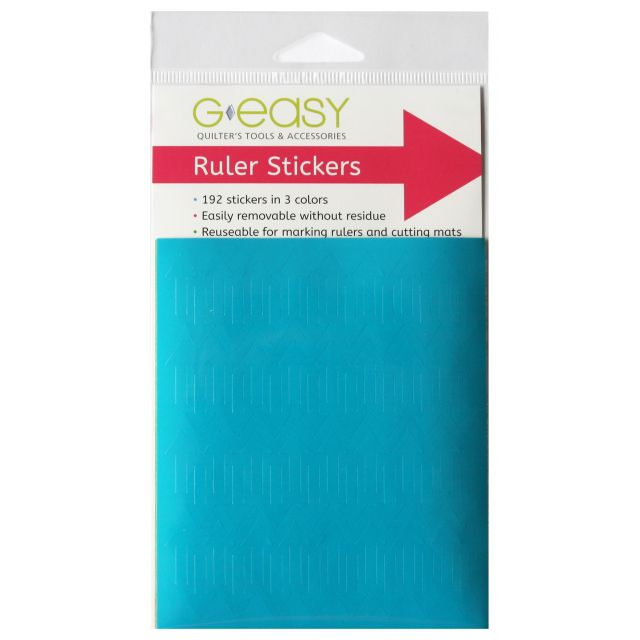 GEasy Ruler Stickers by  Accessories - OzQuilts