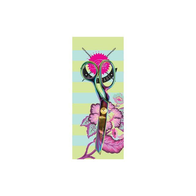 Tula Pink Fabric Shear 6 inch Micro Serrated by Tula Pink Scissors - OzQuilts