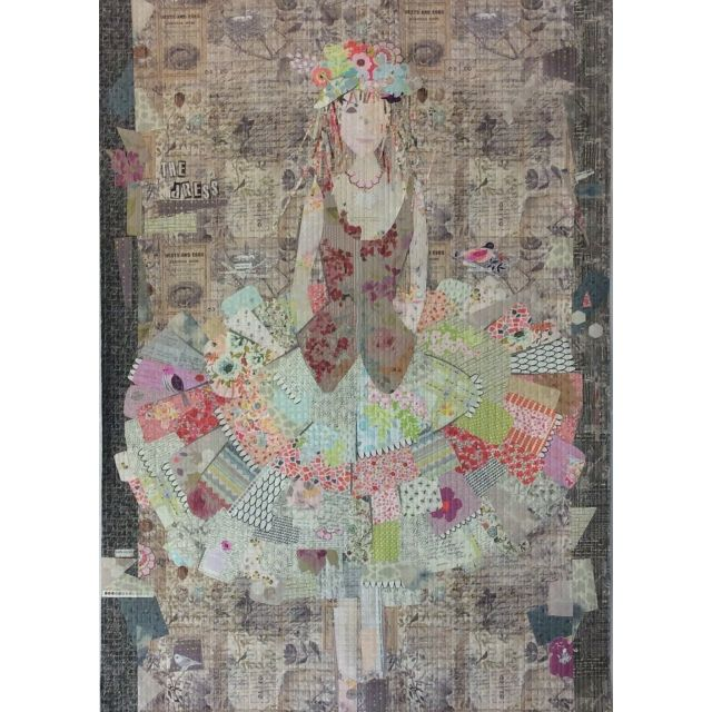 Dress Collage Pattern by Fibreworks by Fibreworks Inc Collage  - OzQuilts
