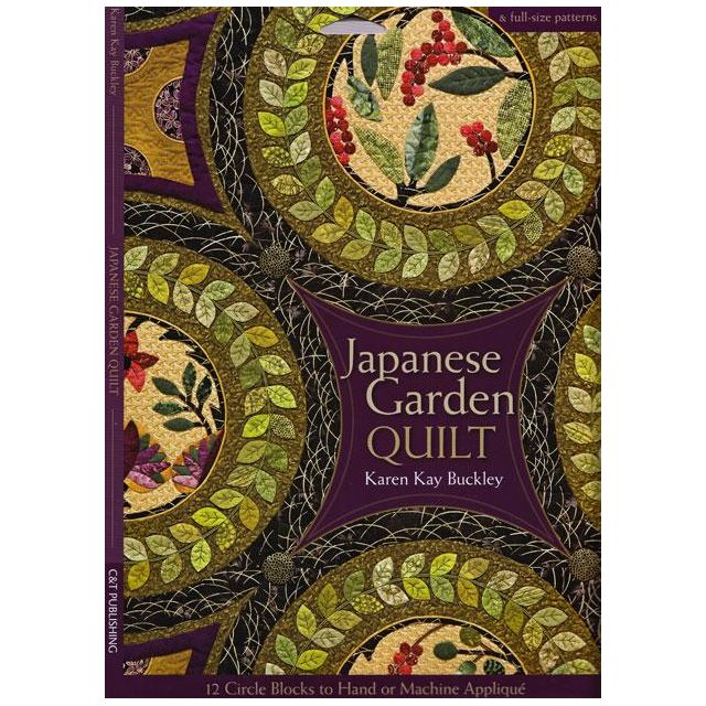 Japanese Garden Quilt by Karen Kay Buckley by Karen Kay Buckley Applique - OzQuilts