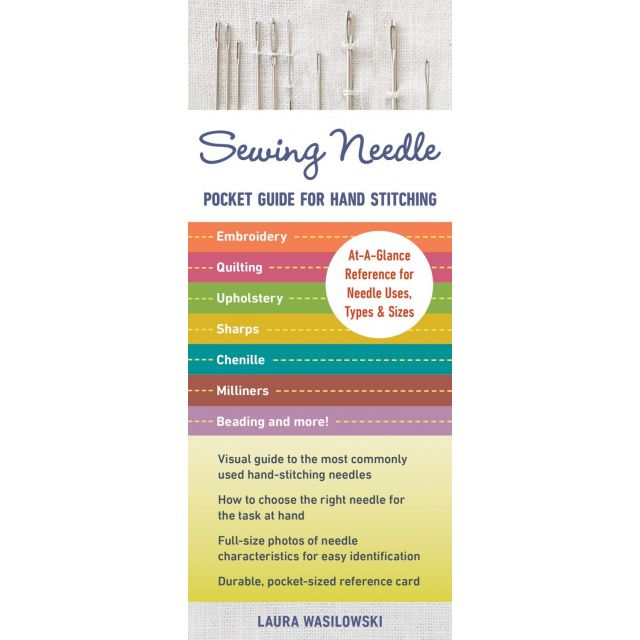 Sewing Needle Pocket Guide for Hand Stitching by  Hand Sewing Needles - OzQuilts
