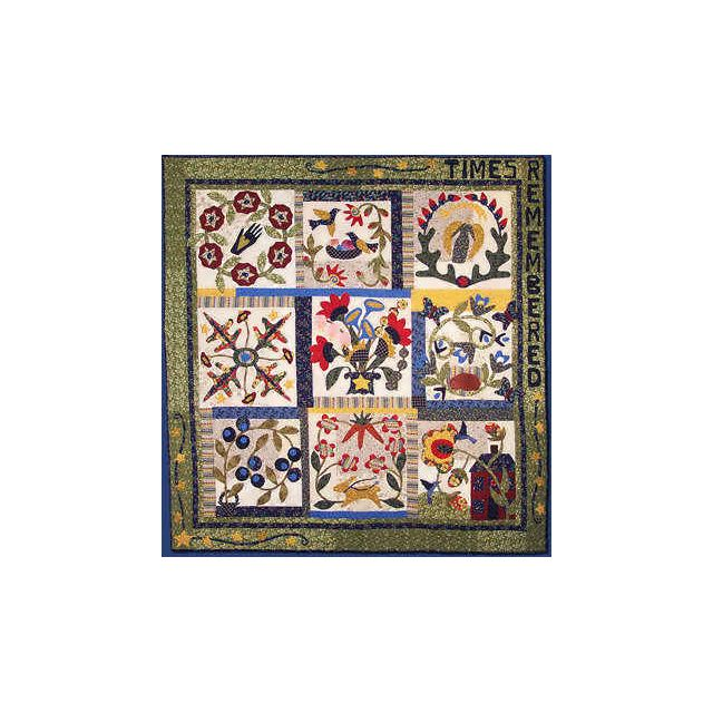 Times Remembered by Pat Sloan & Co Applique - OzQuilts