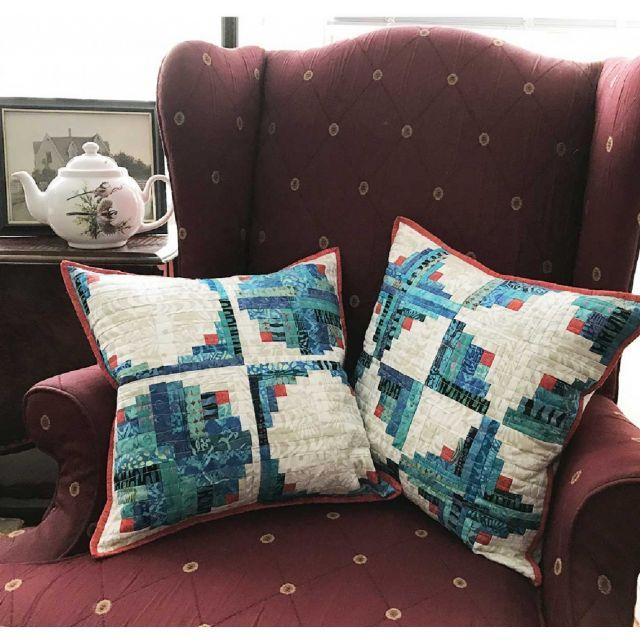 Yin And Yang Pillow Pair Cut Loose Press Pattern by Cut Loose Press Patterns Cut Loose Press Patterns - OzQuilts