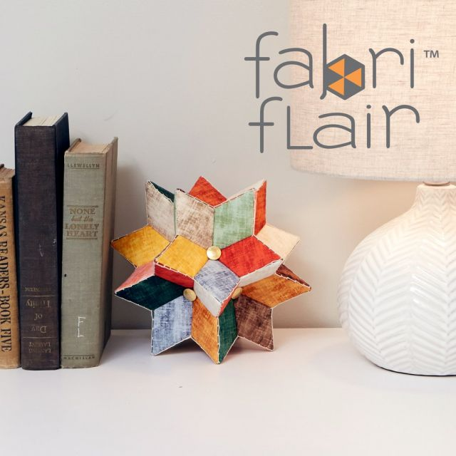 Fabriflair Centerpiece Stars Pattern by Indygo Junction - Christmas