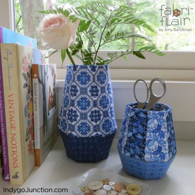 Fabriflair Vase & Vessels Pattern by Indygo Junction - Christmas