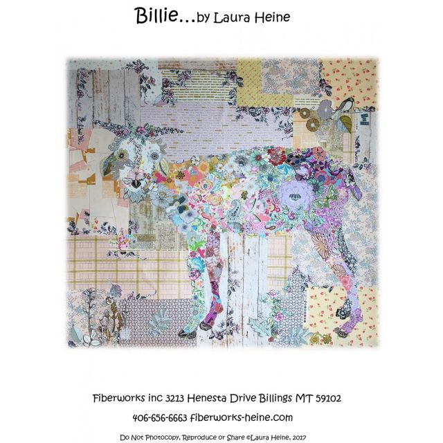 Billie Collage by Fiberworks Collage  - OzQuilts