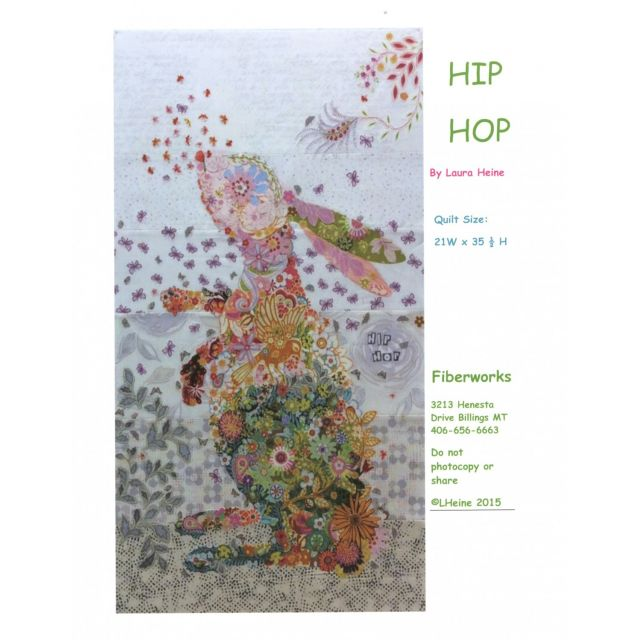 Hip Hop Rabbit Collage by Fibreworks Inc Collage  - OzQuilts