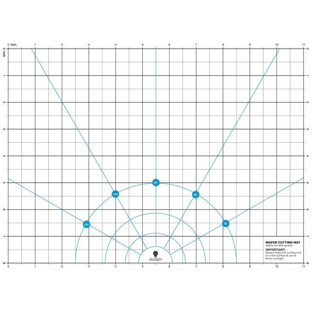 "Cutting Mat for Daylight Light Box Wafer 1 - 11"" x 8"" by Daylight Cutting Mats - OzQuilts"