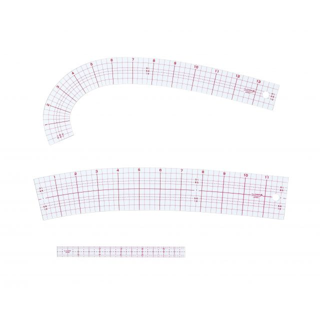 Clover Curve Ruler Set by Clover Scallops, Wave, Curve Rulers - OzQuilts