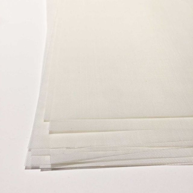 Transparent White Teflon Coated Applique Pressing Sheet Various Sizes by OzQuilts Applique Pressing Sheets