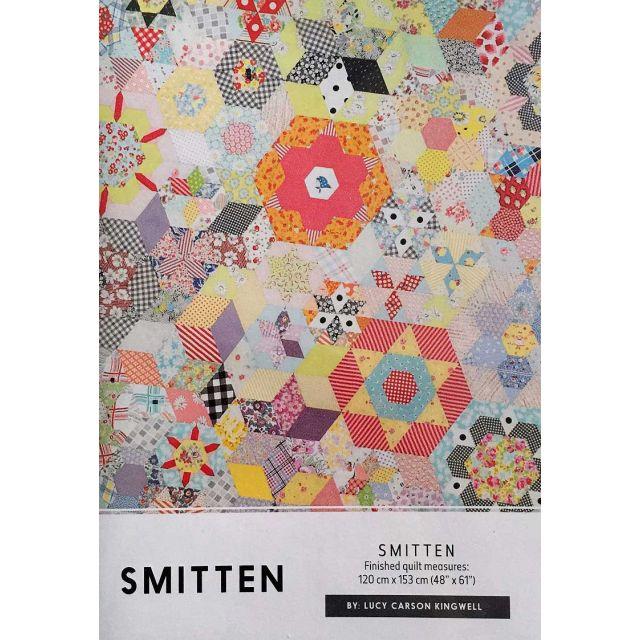 Smitten Pattern by Lucy Carson Kingwell by Jen Kingwell Designs Jen Kingwell Designs - OzQuilts