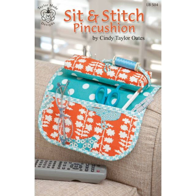 Sit & Stitch Pincushion Pattern by  - Organisers