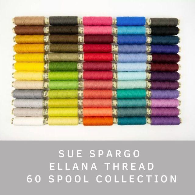 Sue Spargo Ellana Wool Thread Full Set by Sue Spargo Ellana Wool - Sue Spargo Ellana 12wt Wool