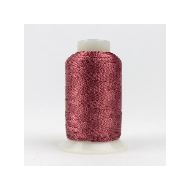 Wonderfil Accent Dark Rose (AC1108) 12wt Rayon Thread 400m (437yd) spool by Wonderfil  Accent 12wt Rayon - OzQuilts