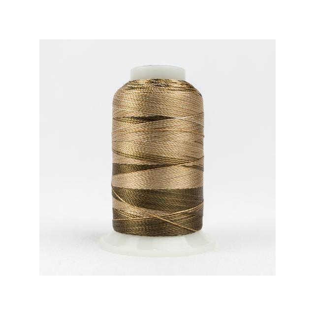 Wonderfil Accent Beige Brown (ACM07) 12wt Rayon Thread 400m (437yd) spool by Wonderfil  Accent 12wt Rayon - OzQuilts