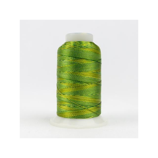 Wonderfil Accent Green Foliage (ACM16) 12wt Rayon Thread 400m (437yd) spool by Wonderfil  Accent 12wt Rayon - OzQuilts