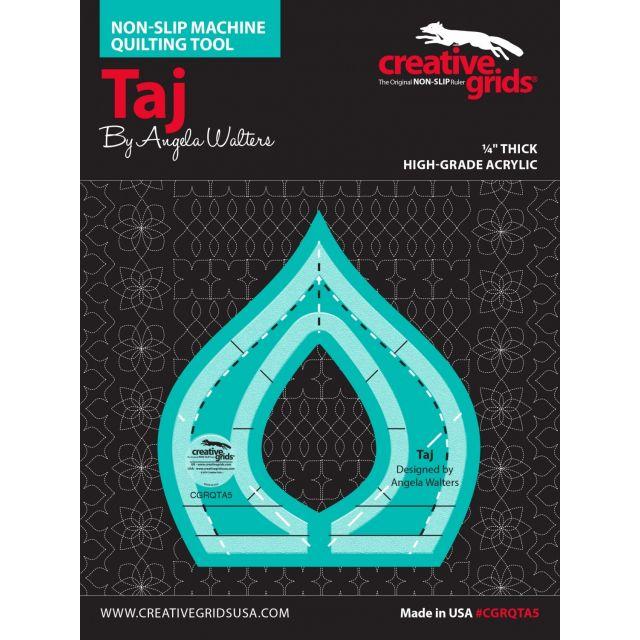 Creative Grids Machine Quilting Tool - Taj by Creative Grids Machine Quilting Rulers - OzQuilts