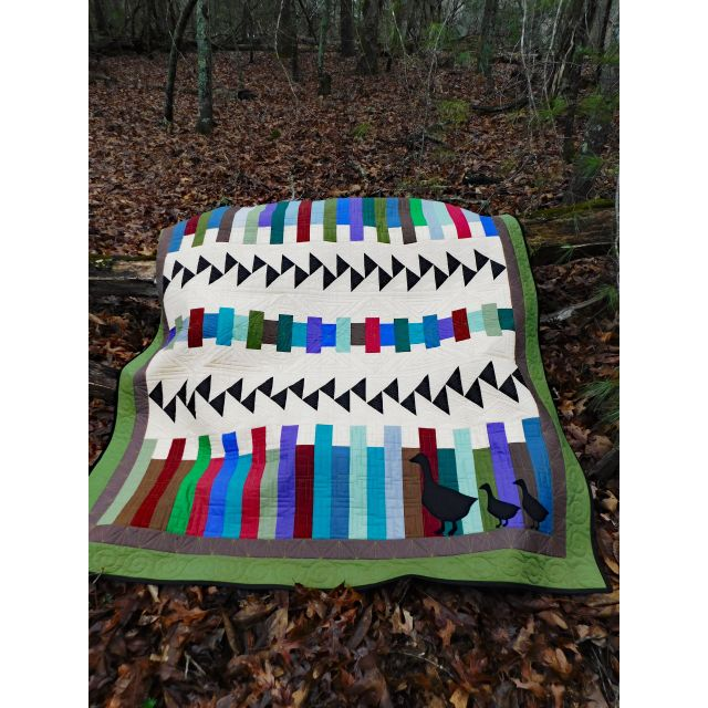 The Ultimate Flying Geese Book by Deb's Cats N Quilts Designs Techniques - OzQuilts