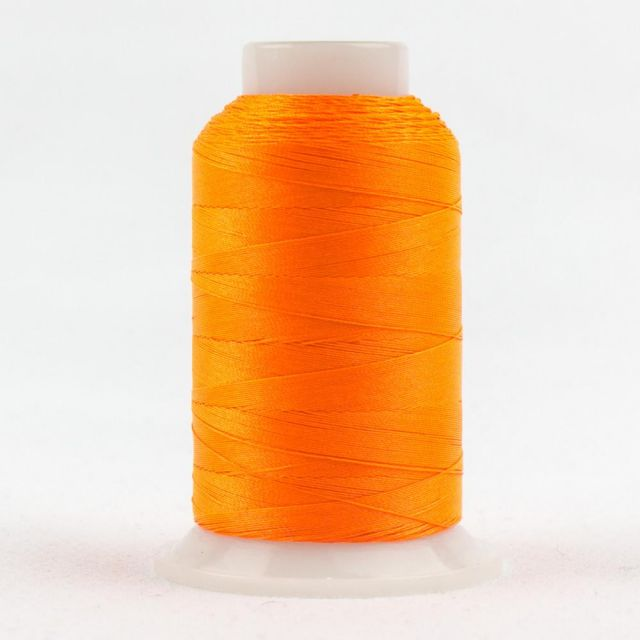 FabuLux 40wt/3ply Trilobal Polyester Neon Orange (FB04) by Wonderfil  Fabulux 40wt Trilobal Polyester - OzQuilts