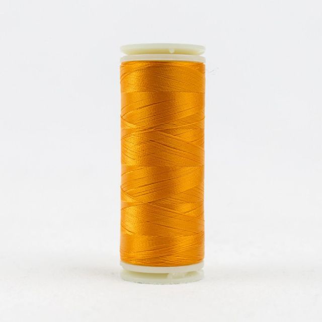 InvisaFil 100wt/2ply Cottonized Polyester, Tangerine(IF703) by Wonderfil Invisafil 100wt Cottonised Poly Invisafil 100wt Cottonized Poly - OzQuilts