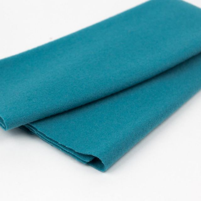 Sue Spargo Teal Merino Wool Fabric Pack by Wonderfil  Sue Spargo Merino Wool Fabric - OzQuilts