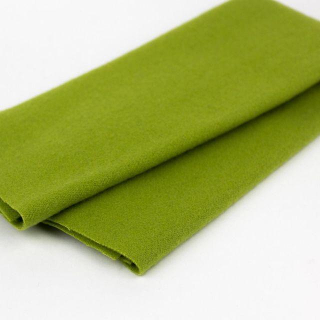 Australian Merino Wool, Avocado (LN12) by Sue Spargo by Wonderfil  Sue Spargo Merino Wool Fabric - OzQuilts
