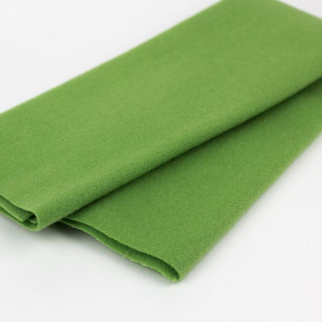 Australian Merino Wool, Peridot (LN14) by Sue Spargo by Wonderfil  Sue Spargo Merino Wool Fabric - OzQuilts