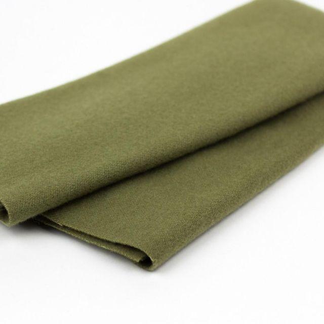 Australian Merino Wool, Sagebrush (LN15) by Sue Spargo by Wonderfil  Sue Spargo Merino Wool Fabric - OzQuilts