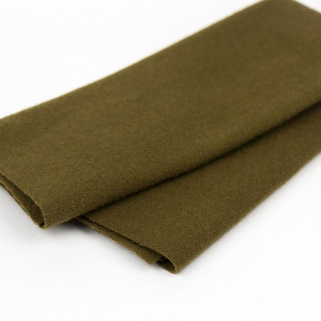 Australian Merino Wool, Bark (LN27) by Sue Spargo by Wonderfil  Sue Spargo Merino Wool Fabric - OzQuilts