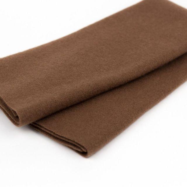 Australian Merino Wool, Rust (LN28) by Sue Spargo by Wonderfil  Sue Spargo Merino Wool Fabric - OzQuilts